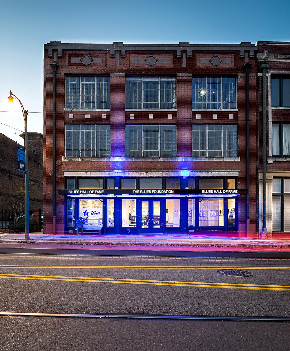 Blues foundation_Dusk Exterior (1 of 4).jpg