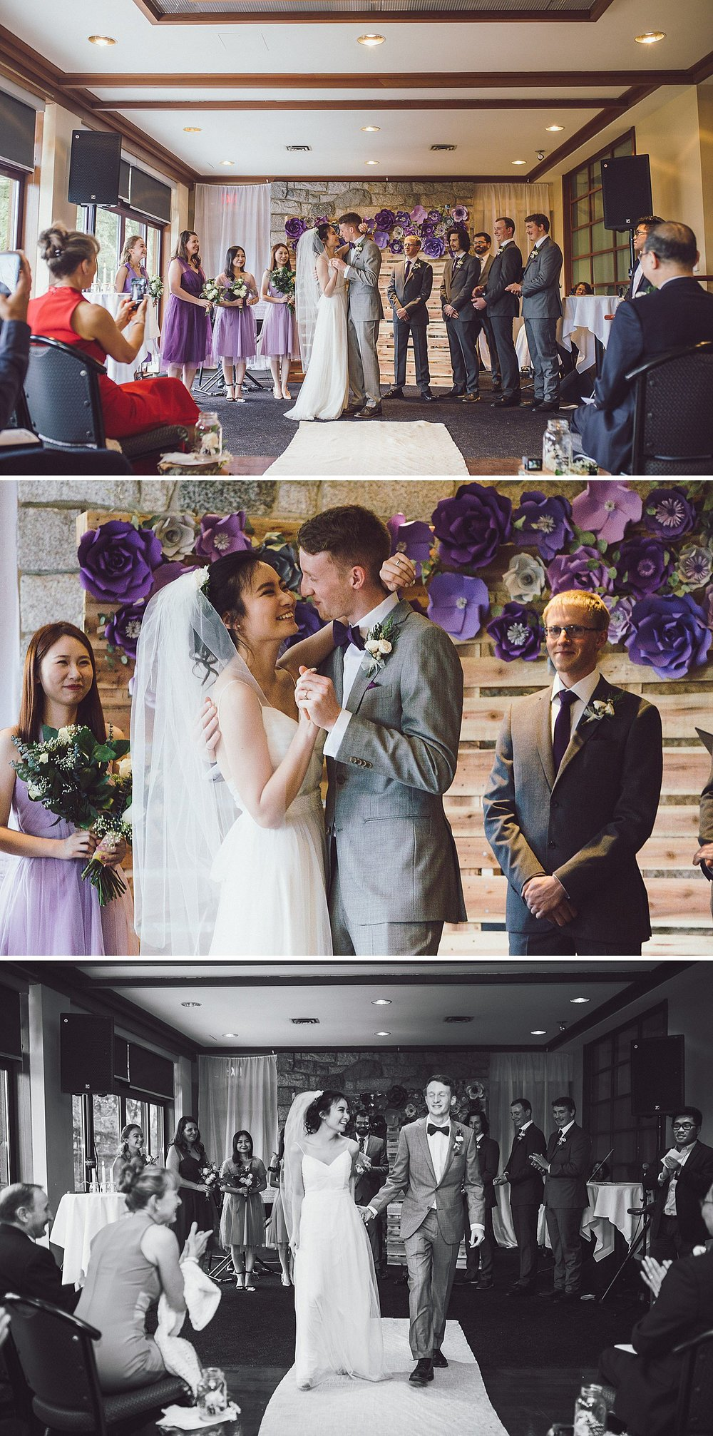 Angel and Tim get married at the Diamond Alumni Centre