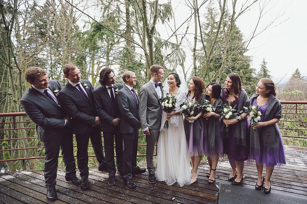 Angel and Tim's awesome bridal party