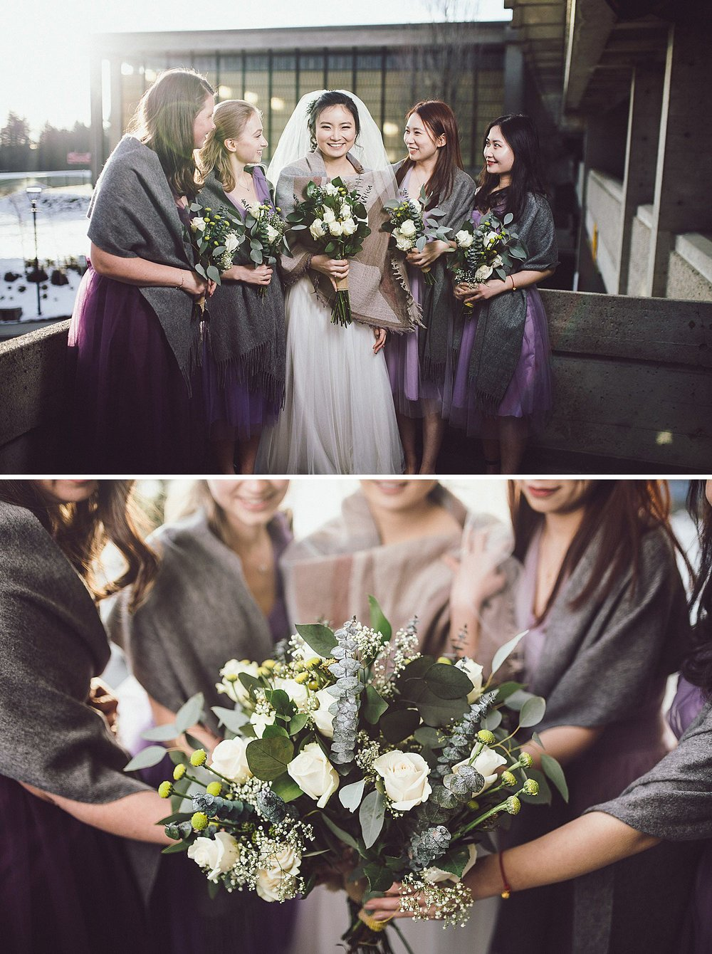 Angel and her bridesmaids