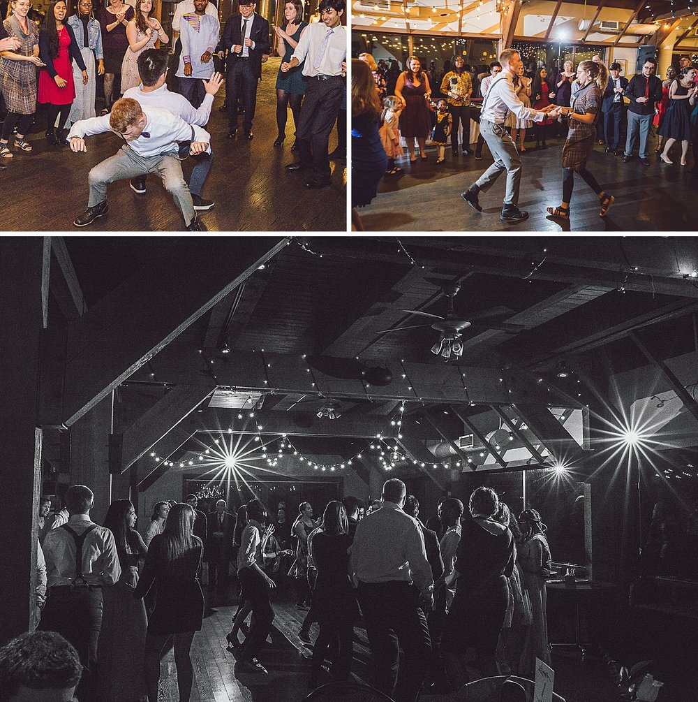 Tearing up the dance floor at the DAC