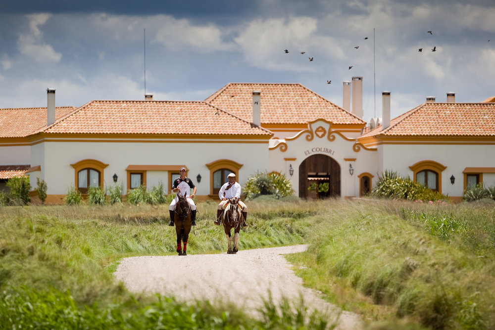A traditional Argentinian estancia (ranch)