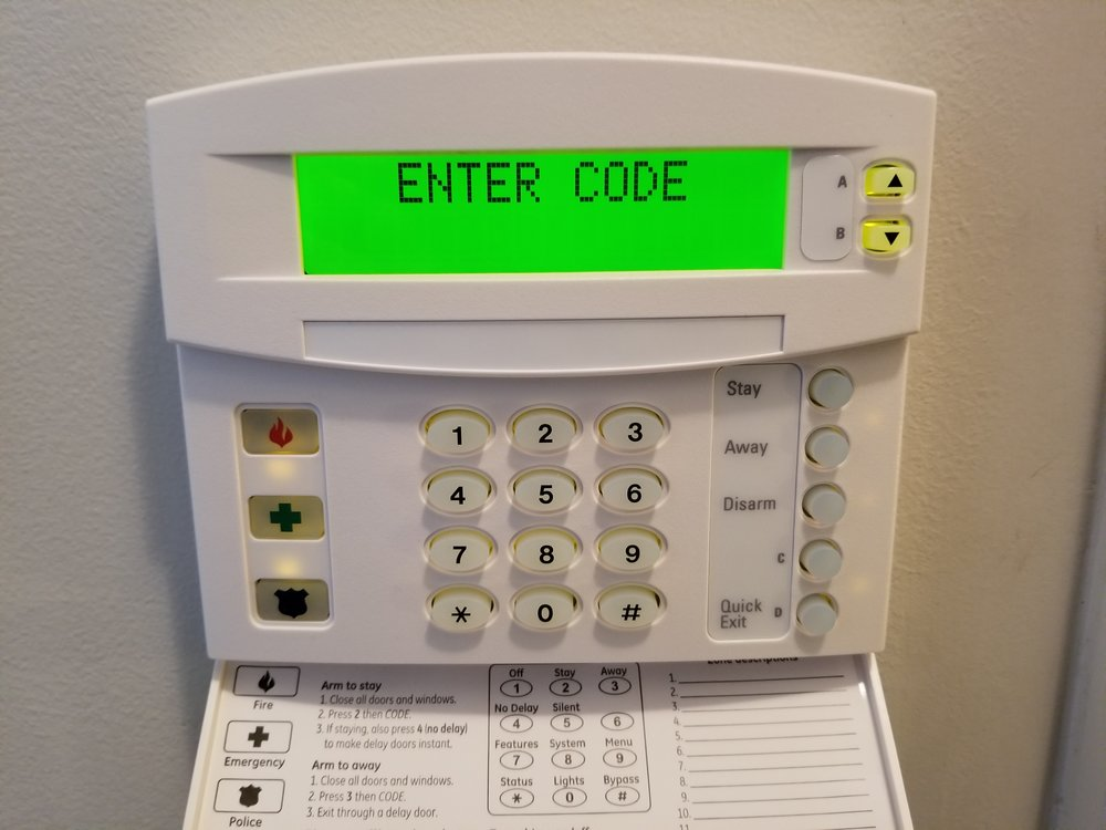 Press the 9 key, then enter your 4-digit master code.
