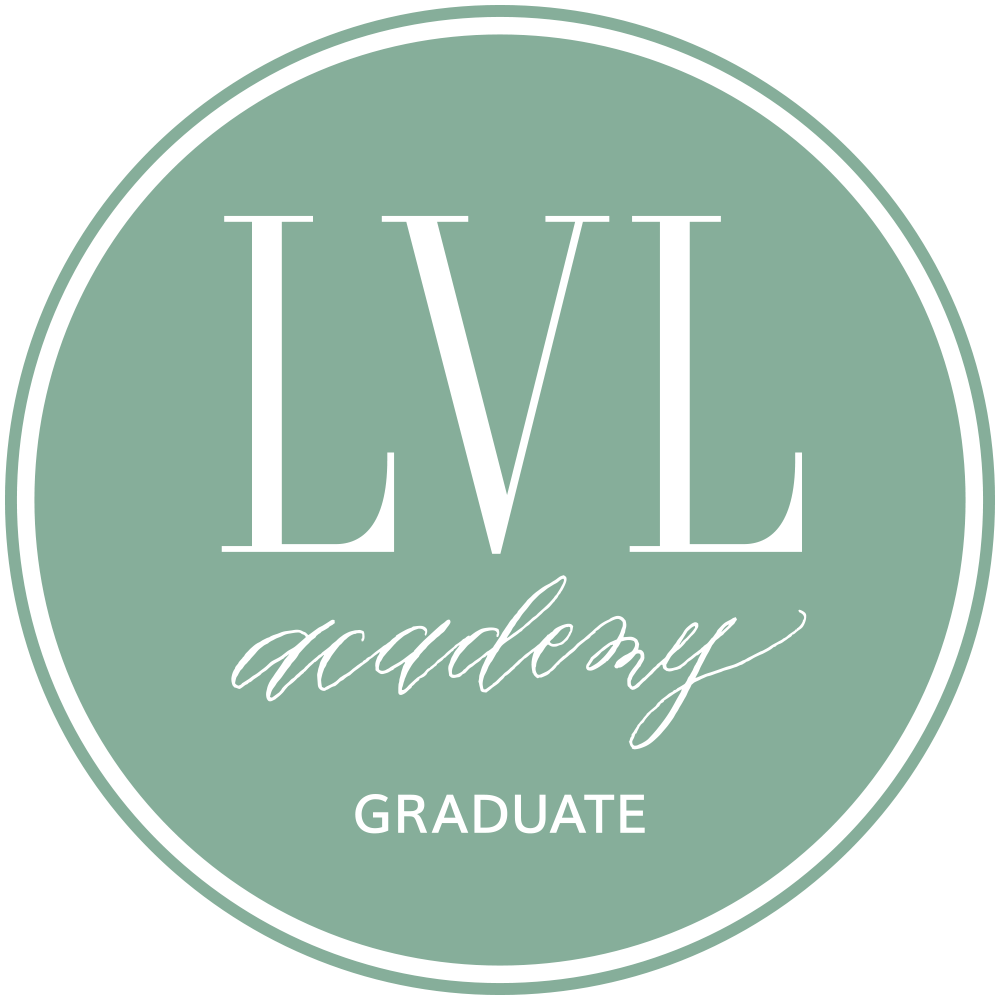 LVL Academy Chiantelle Nicole Events and Weddings Badge