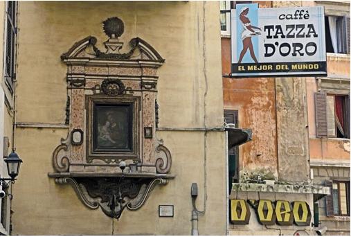 Signage from Tazza D'oro (Tazza D'oro)