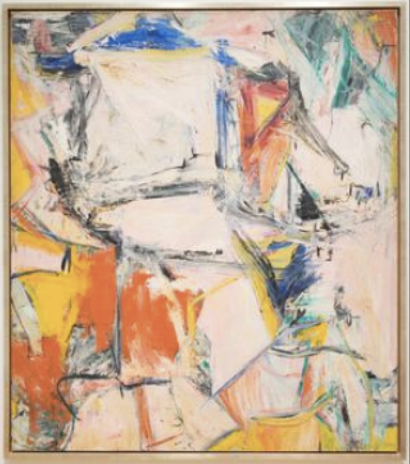 Willem de Kooning, Art Institute of Chicago (Wikicommons)