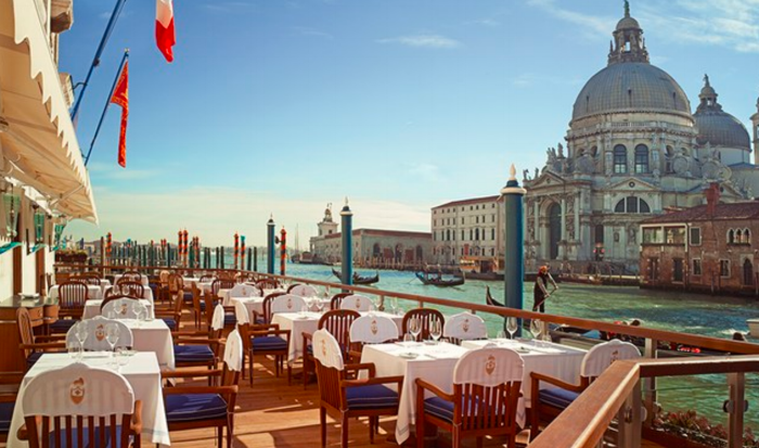 Club del Doge Restaurant, Venice (Gritti Palace)