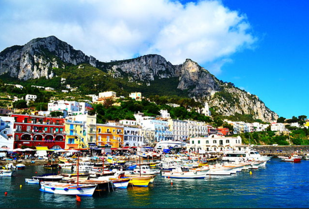 The Harbor of Capri (Wikicommons  JonathanHeu)