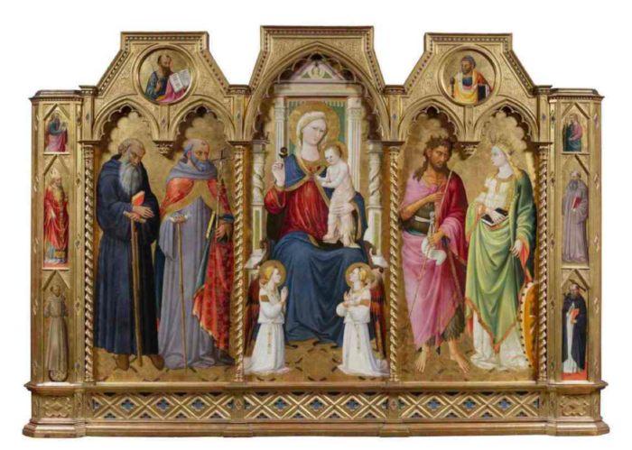 15th c. Altarpiece by Florentine Artist, Westminster Abbey (Dean and Chapter of Westminster via Aleteia)