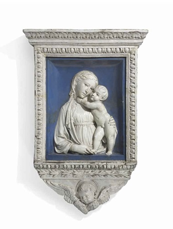 (Photo Luca Della Robbia, Virgin and Child)
