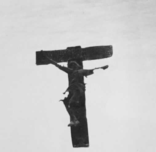 Crucifix pulled from the ashes of church in Warsaw after the Nazi's burned the city to the ground. (Photo: Carrie Gress)
