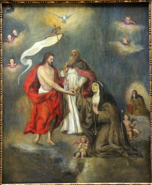 Abraham van Diepenbeeck, St. Teresa of Avila Pleading for Souls in Purgatory, Flanders, 1600-1699 (Wiki Commons)