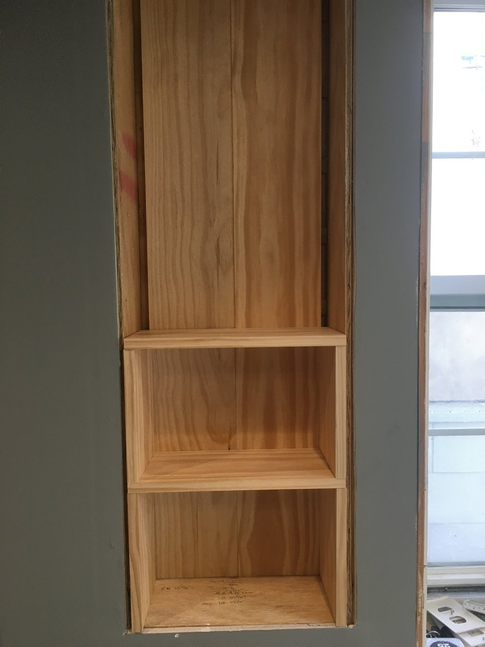 How to construct a custom inset shelf — on24thstreet