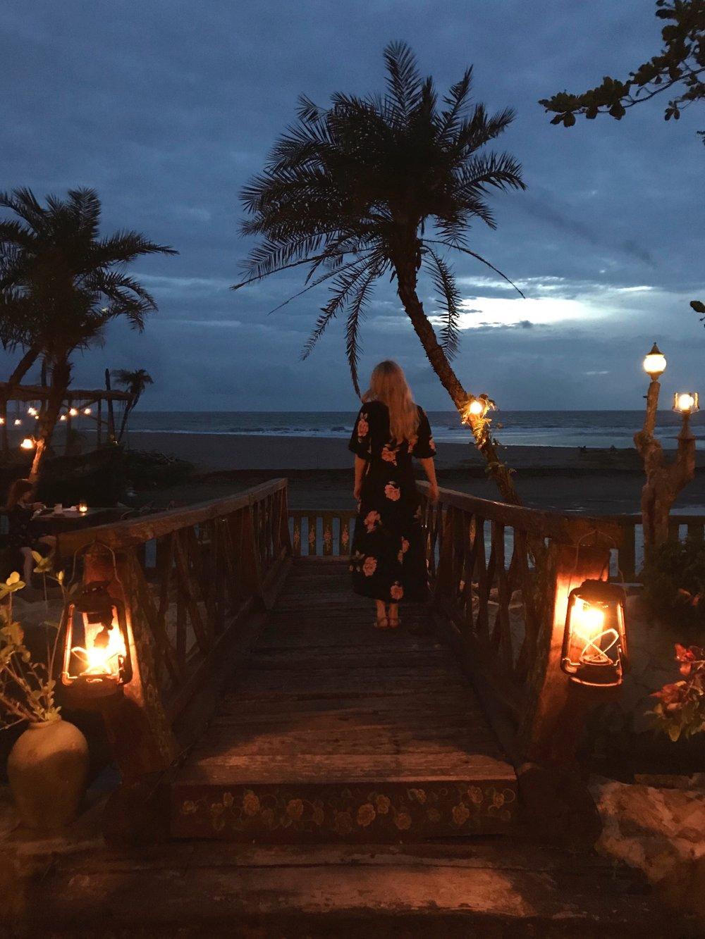 La Laguna Bali Sunset Wondering English Rose.jpg