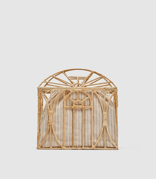 3. Cage Bag - 70's style steal - £29.99 (Image Zara)