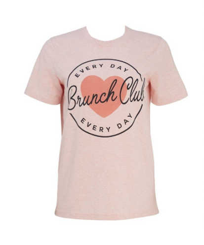 Margot Every Day Brunch Club T Shirt - £18 (Image Joanie Clothing)