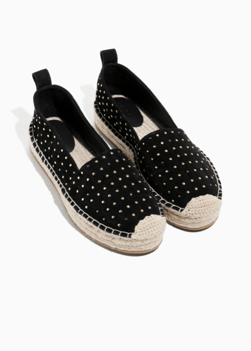 11. & Other Stories Studded Suede Espadrilles - £79 (Image & Other Stories)