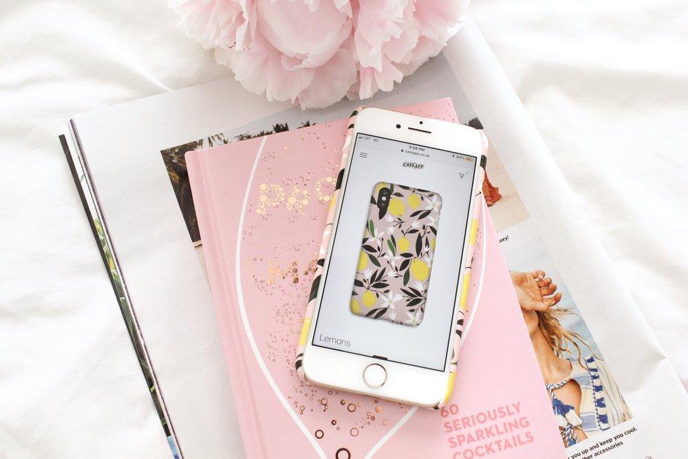 Lemon Print Phone Case design by CaseApp.jpg