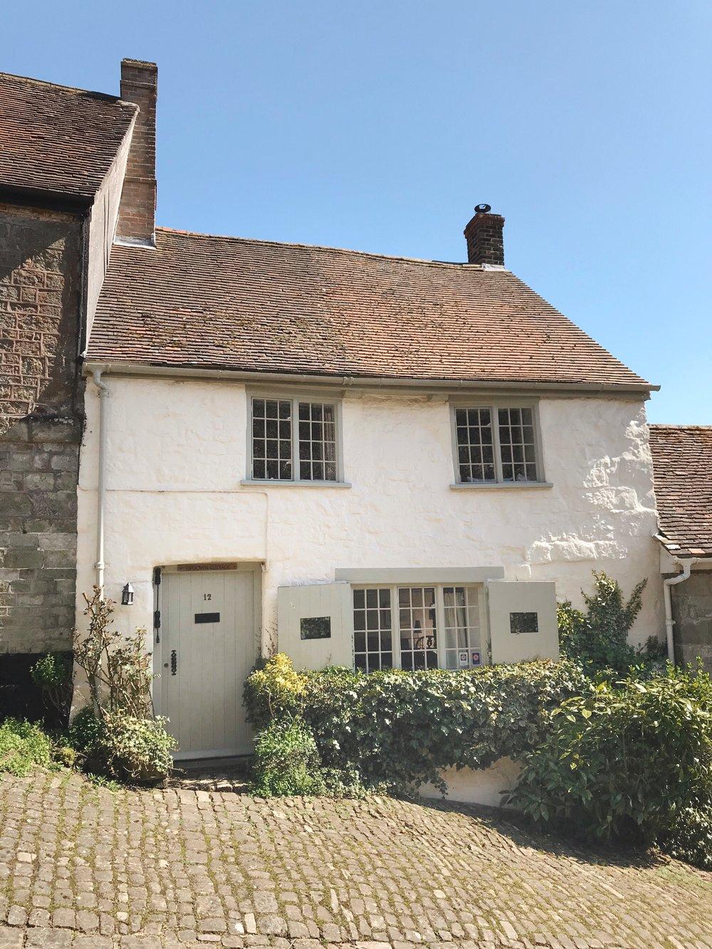 Cottages, Gold Hill, Dorset