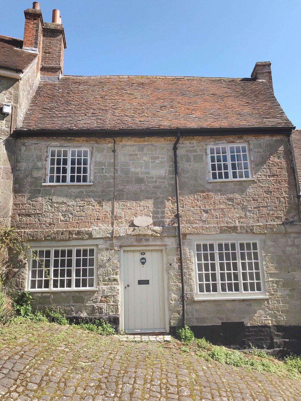 Cottages Dorset, Gold Hill