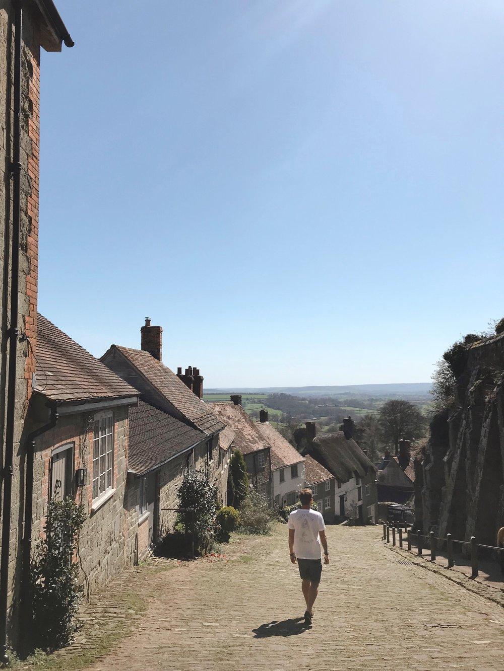 Traveling Dorset, Gold Hill, Shaftsbury