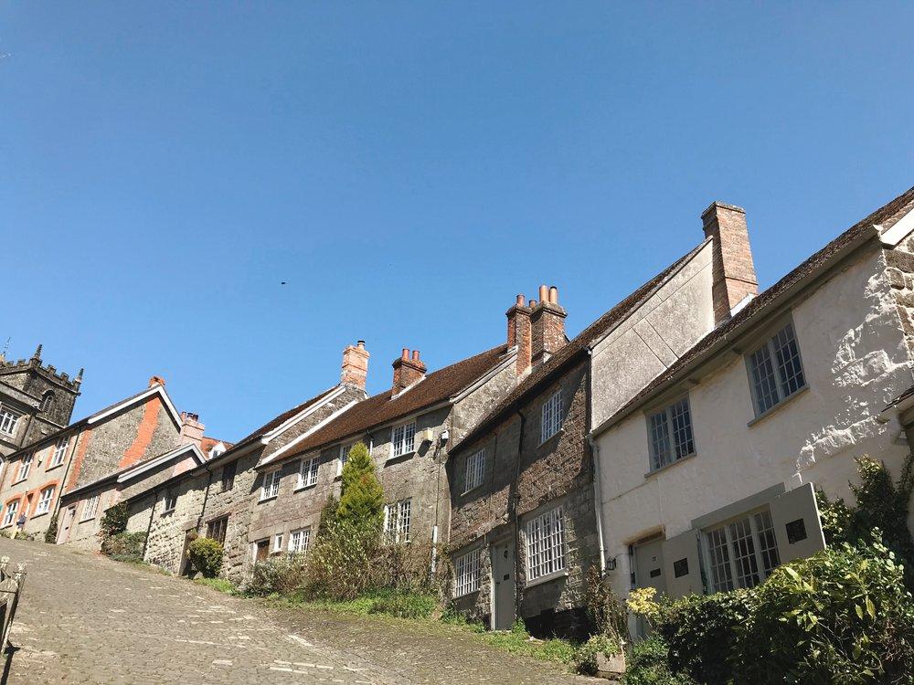 Traveling Great Britain, Gold Hill, Shaftsbury, Dorset.JPG