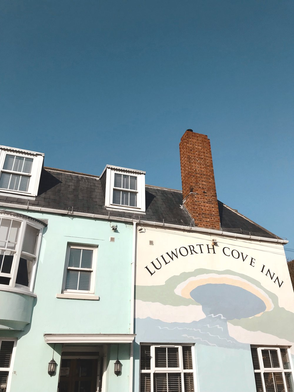 Visiting Lulworth Cove, Dorset