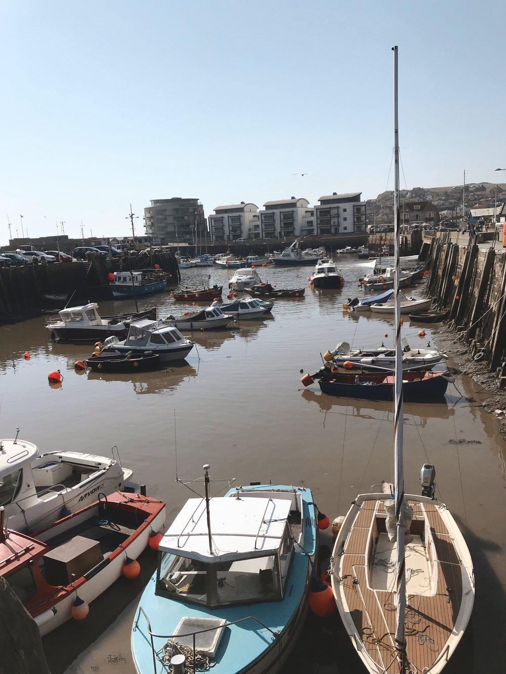 Visiting Bridport Harbour, Dorset.JPG