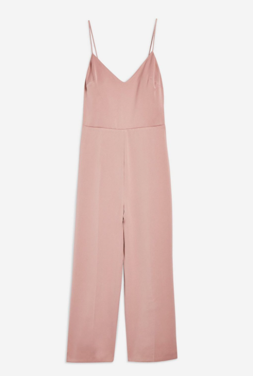 6. Strappy Satin Jumpsuit - £49