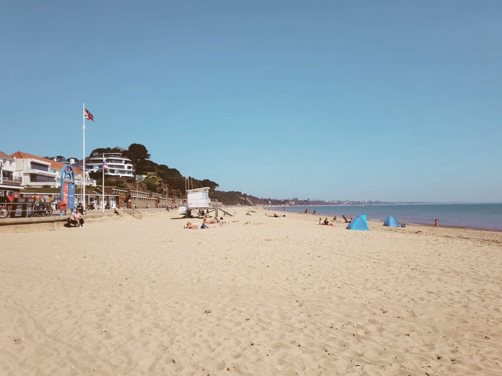 Sandbanks Beach, Poole, Dorset
