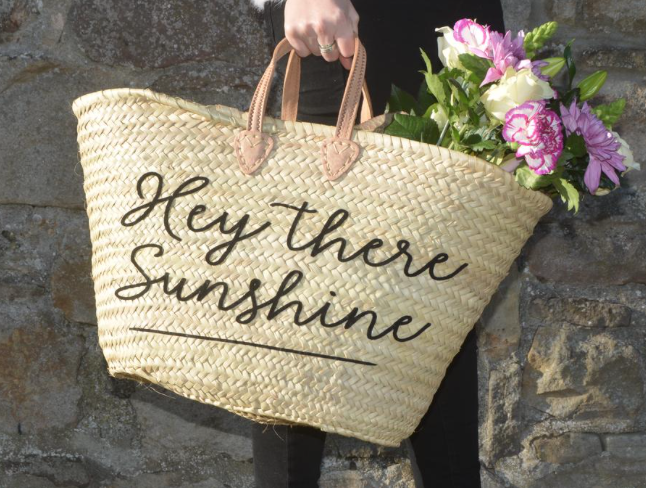 2. Hey There Sunshine Basket Bag - £80