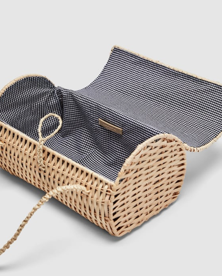 3. Wicker Handbag - £22.99 (Sale)
