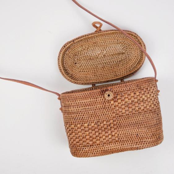7. Blaire Woven Basket Bag - £72