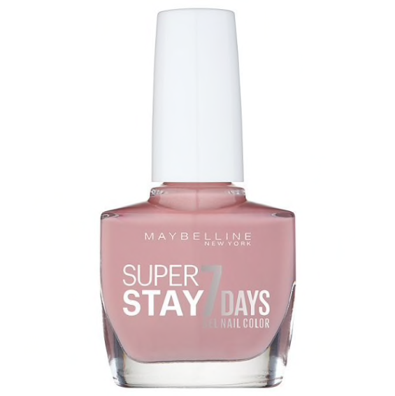 - Maybelline Forever Stong Gel Nail Polish 130 Rose Poudre