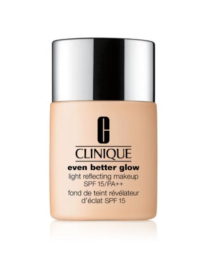 - Clinique Even Better Glow Light Reflecting Makeup SPF 15