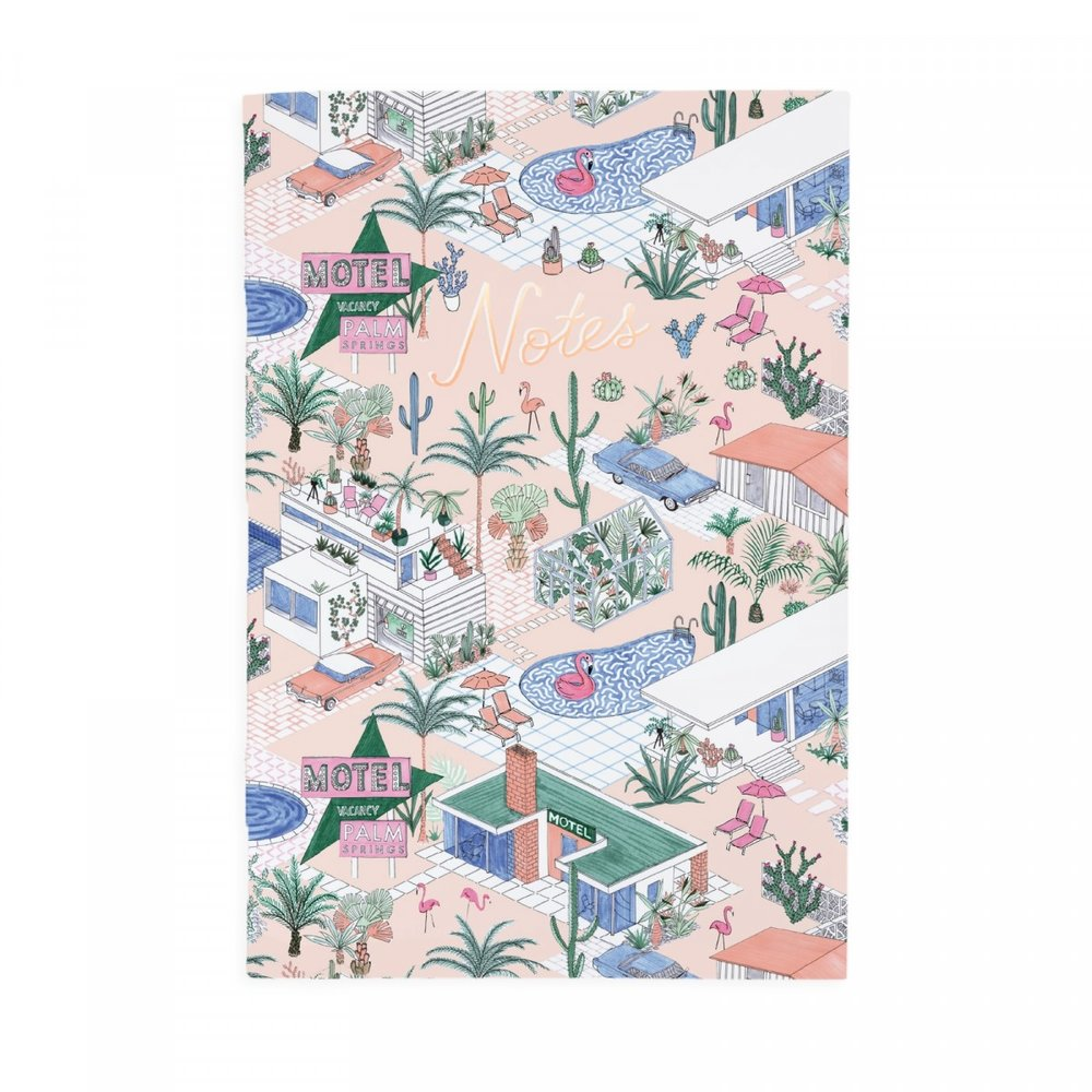 - Ohh Deer Palm Springs A4ish Notepad