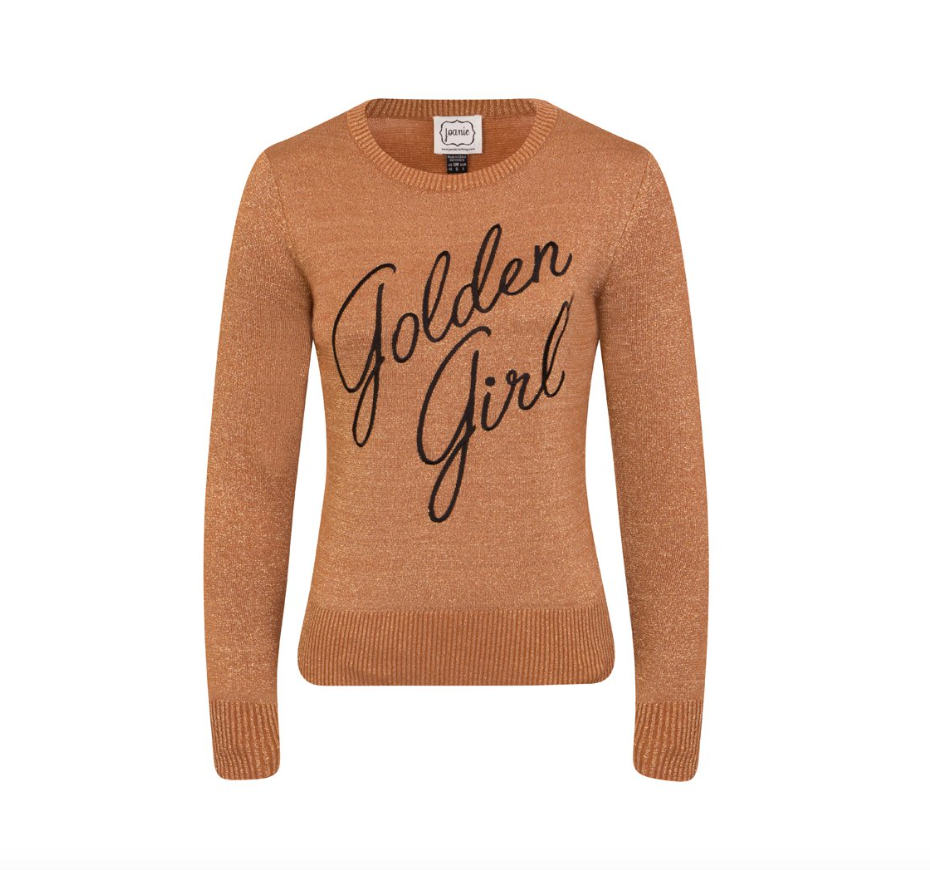 - Vega Golden Girl Slogan Jumper