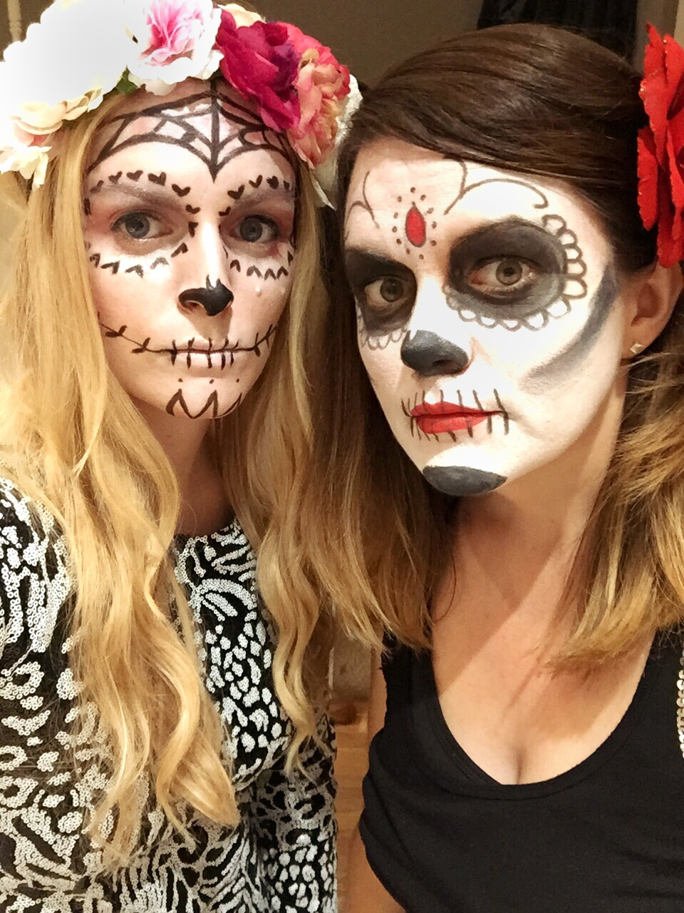 Day of the Dead Halloween Facepaint