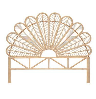 - Daisy Natural Rattan King Size Headboard | The Rattan Company