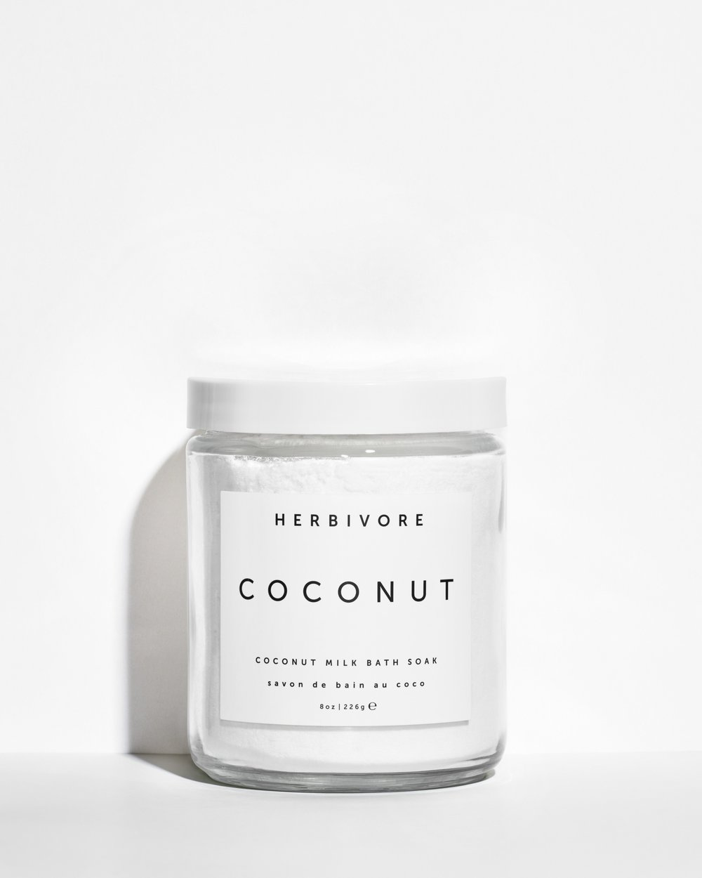 - Herbivore Botanicals Coconut Milk Bath Soak