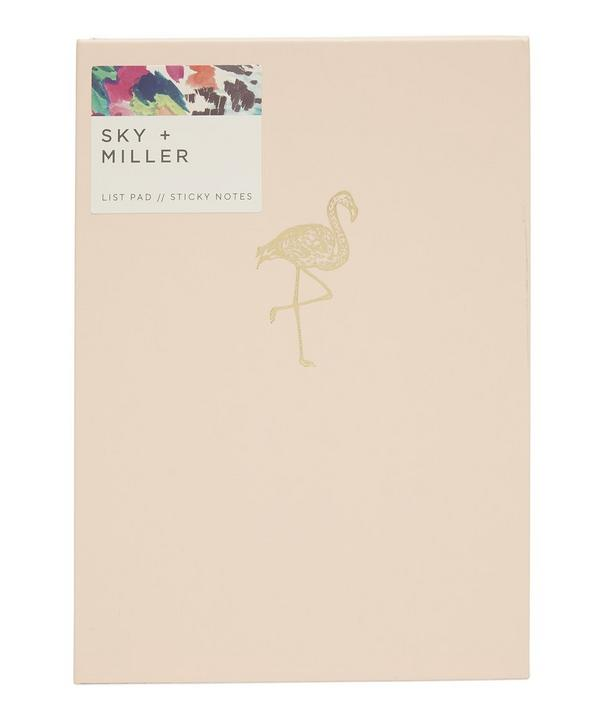- Liberty London Flamingo Memo Notepad