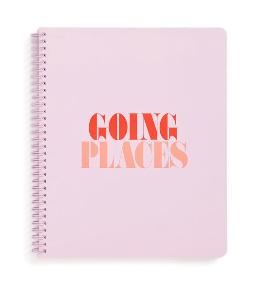 - Bando Going Places Notebook