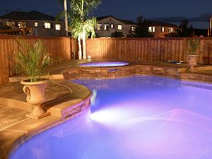 LED Swimming Pool and Backyard Lighting