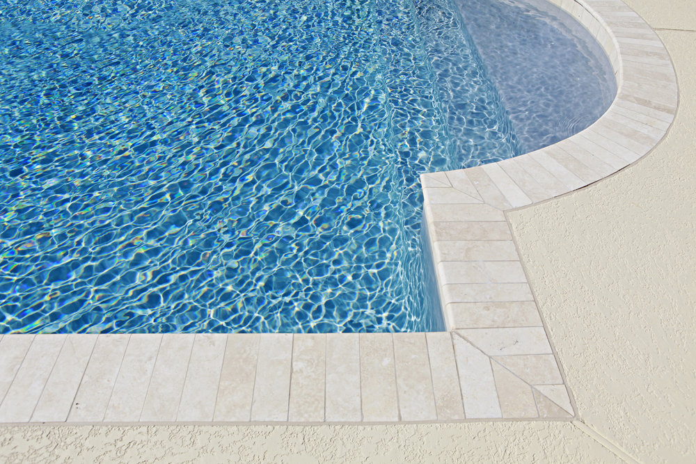 Swimming Pool Landscaping With Rocks And Stone