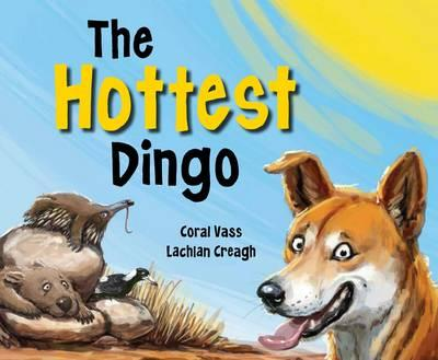 The Hottest Dingo - By Coral Vass and Lachlan CreaghOut in the bush, in the hot sun, Danny the Dingo was not having fun! He sweltered and sizzled. He was thirsty and dry. There wasn't a single cloud in the sky. Instead of lying around, Danny decides to copy how other animals stay cool.