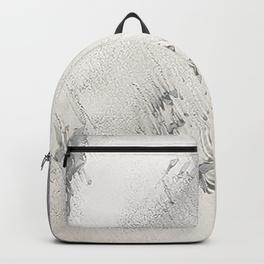 sandy beach grey backpack