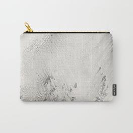 sandy beach grey cary-all pouch