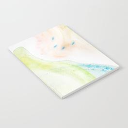 swirling bubbles notebook