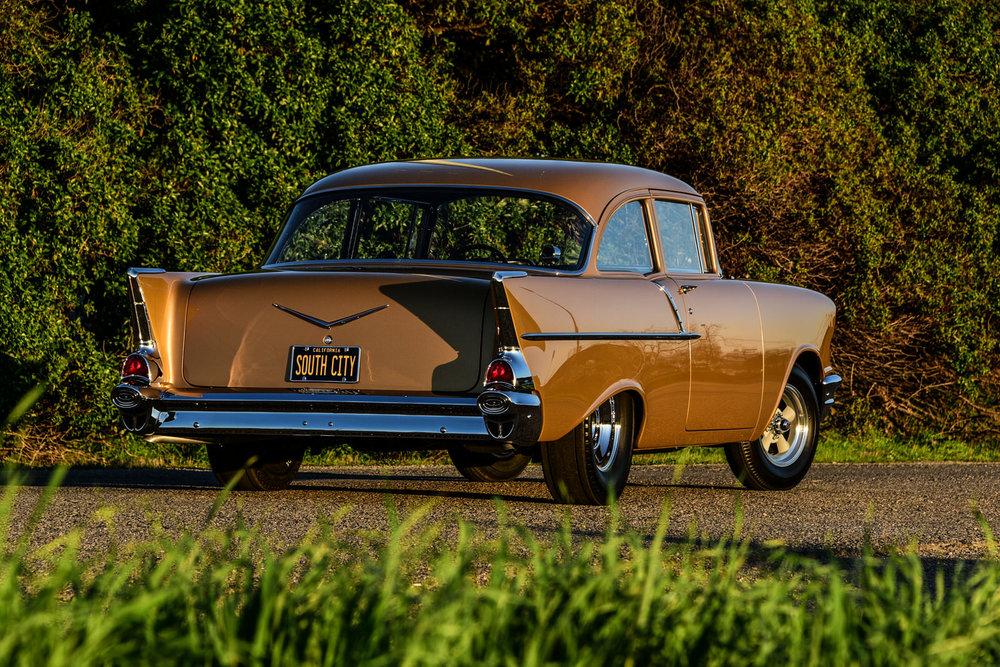 Tony Jurado 1957 Chevy - South City Rod & Custom - Photo by John Drummond