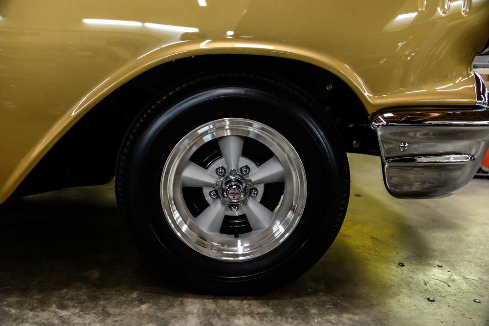 Tony Jurado 57 Chevy - South City Rod & Custom - Photo by John Drummond